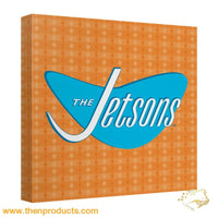 Jetsons - Logo Canvas Wall Art With Back Board