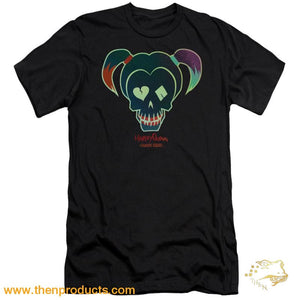 Suicide Squad - Harley Skull Premium Canvas Adult Slim Fit 30/1