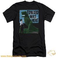 Edward Scissorhands - Edward Was Here Short Sleeve Adult 30/1 - Then Products
