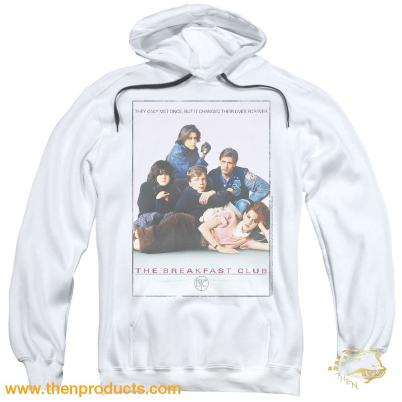 Breakfast Club - Bc Poster Adult Pull Over Hoodie - Then Products