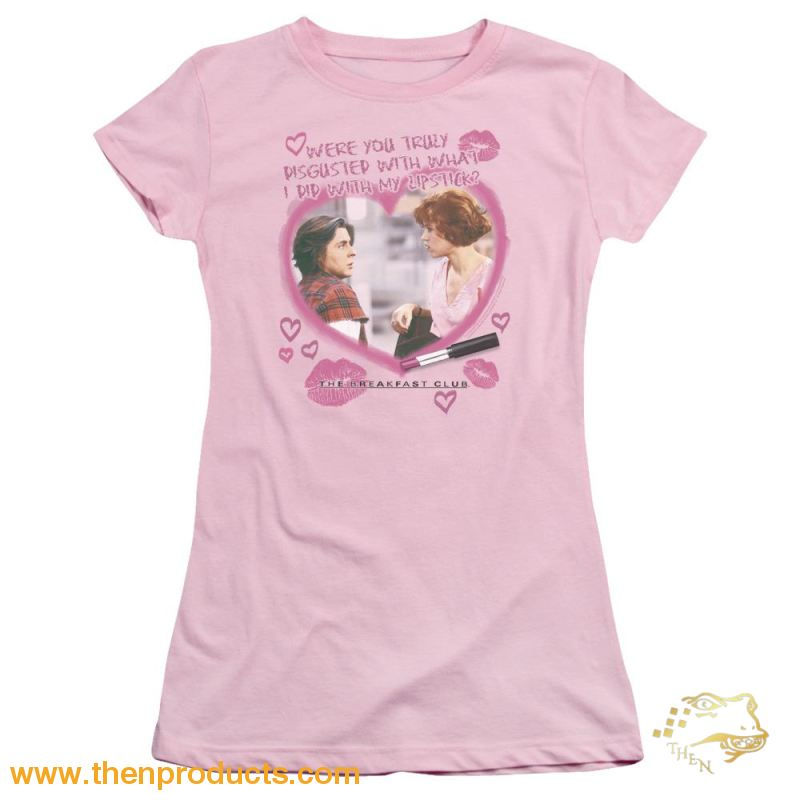 Breakfast Club - Lipstick Short Sleeve Junior Sheer - Then Products