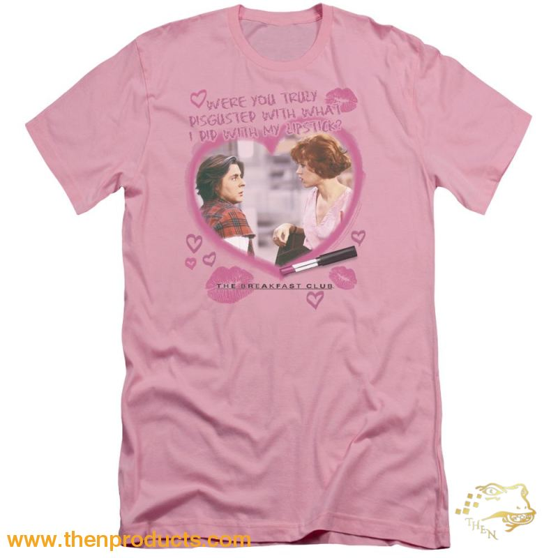 Breakfast Club - Lipstick Short Sleeve Adult 30/1 - Then Products