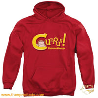 Curious George - Curious Adult Pull Over Hoodie - Then Products