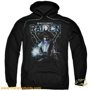 Mortal Kombat - Raiden Adult Pull Over Hoodie