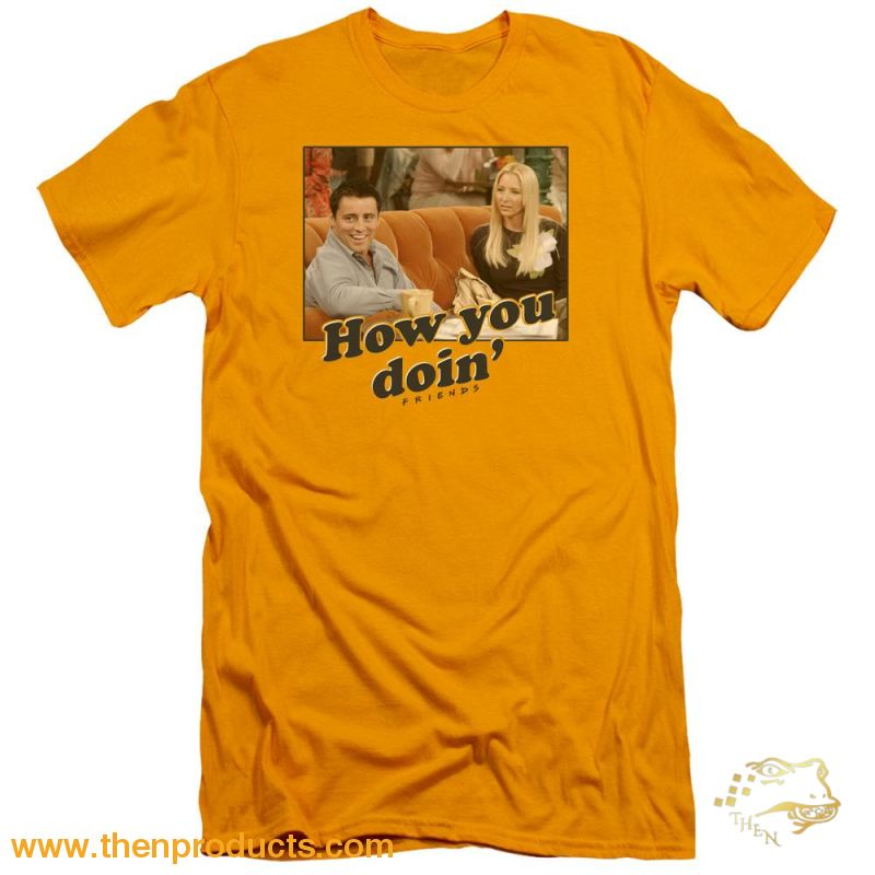 Friends - How You Doin Short Sleeve Adult 30/1