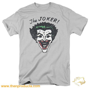 Batman - Retro Joker Short Sleeve Adult 18/1 - Then Products