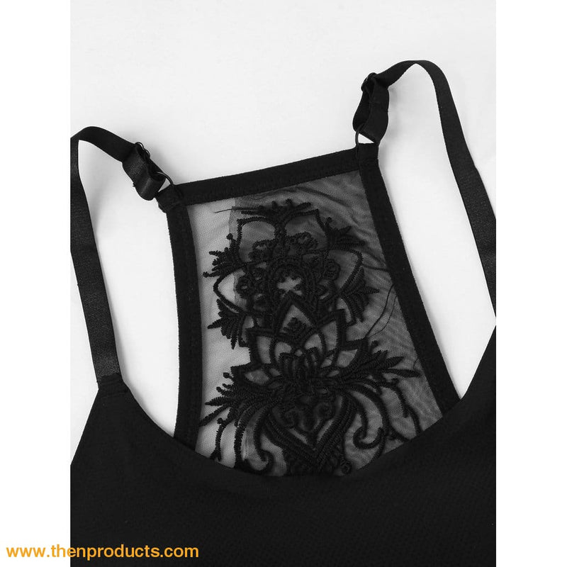 Embroidery Back Bra - Then Products