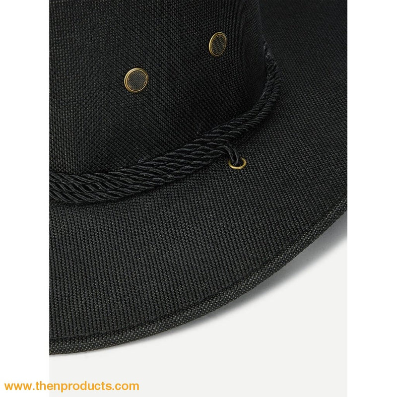 Eyelet Western Hat - Then Products