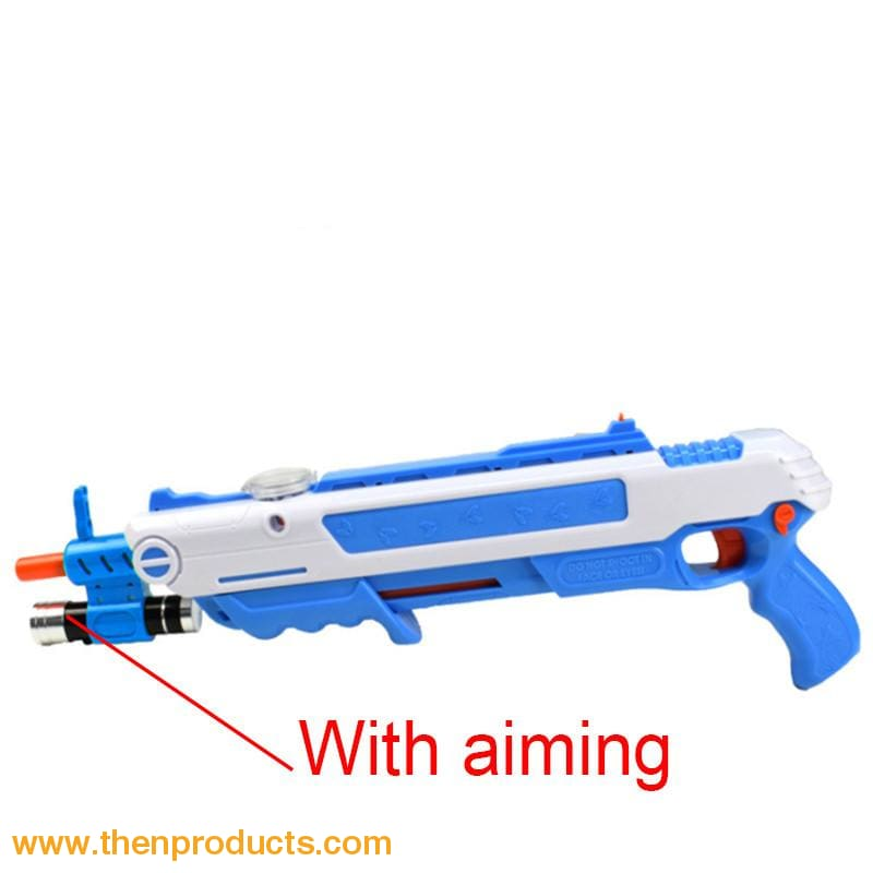 Flying Insects Bug-A-Salt Gun Blue White With Aim Default