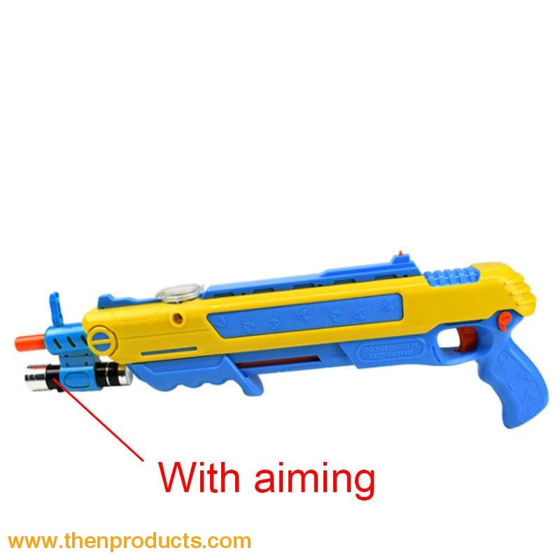 Flying Insects Bug-A-Salt Gun Blue Yellow With Aim Default