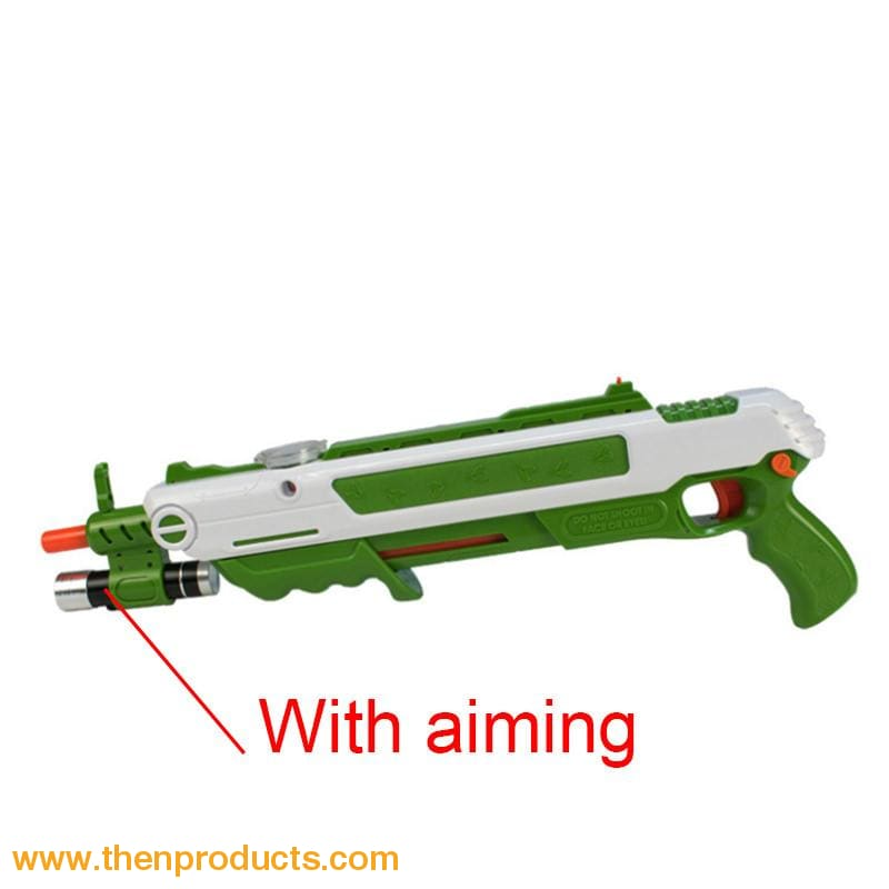 Flying Insects Bug-A-Salt Gun Green White With Aim Default