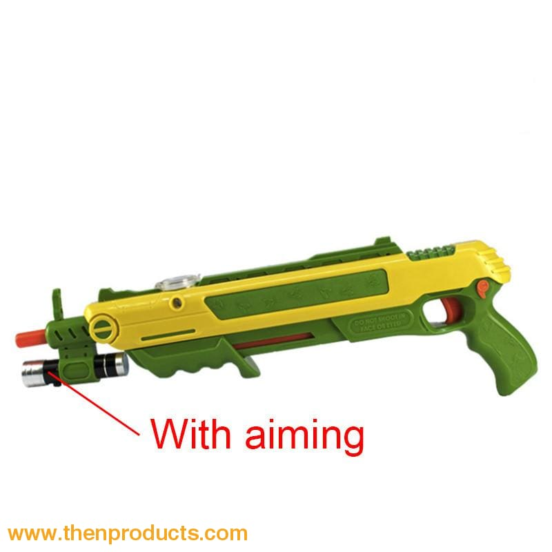 Flying Insects Bug-A-Salt Gun Greenyellow With Aim Default
