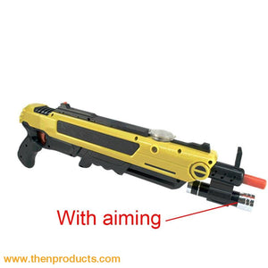 Flying Insects Bug-A-Salt Gun Yellow With Aim Default