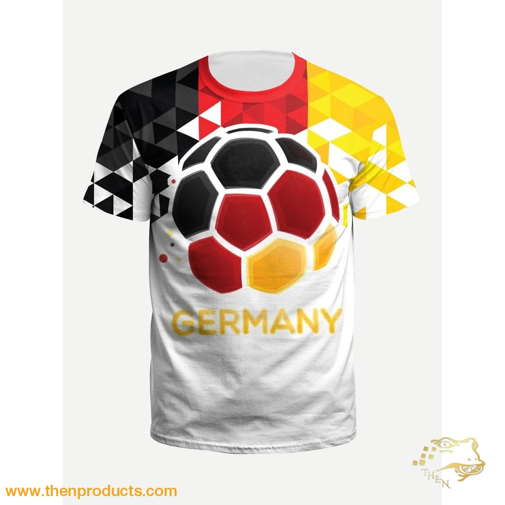 Geometric Men World Cup Germany Tee
