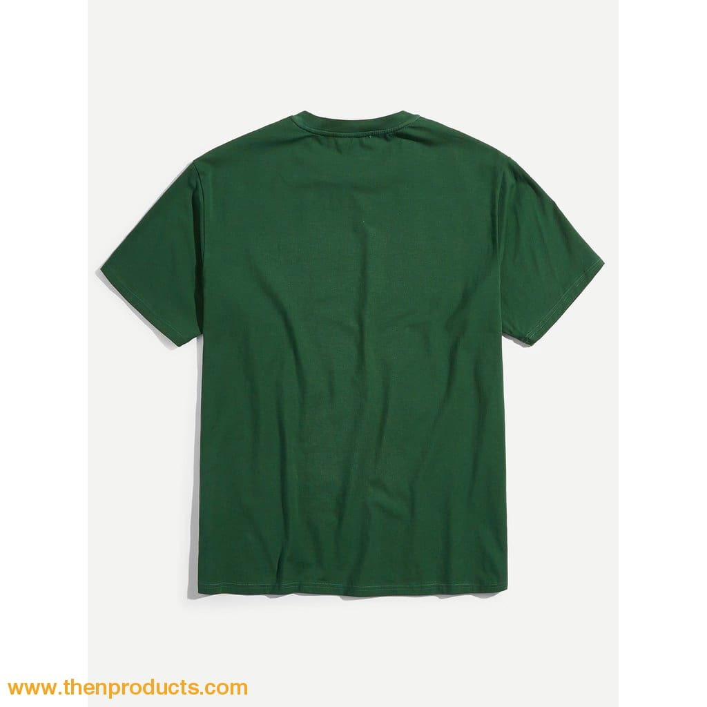 Green Men Geek T-Shirt