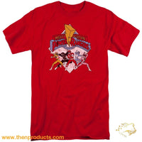 Power Rangers - Retro Short Sleeve Adult Tall