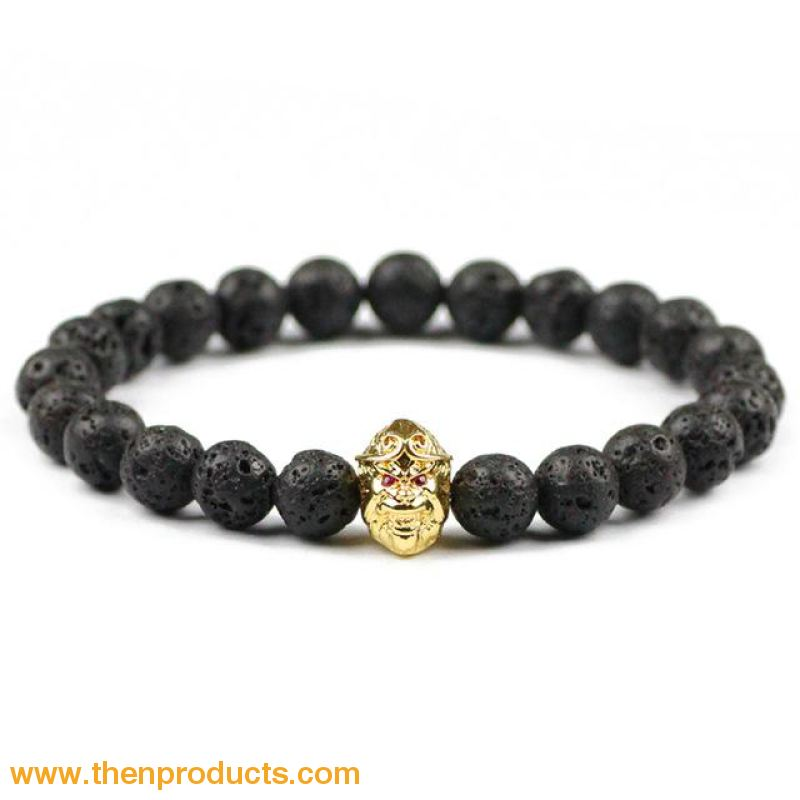 Sun Wukong Monkey Charm Bracelets Gold-Color Unisex - Jewelry