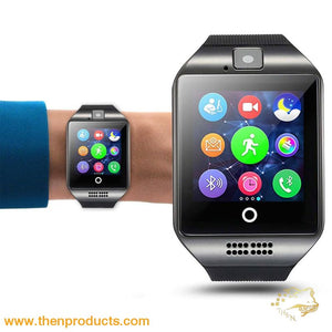 Q18 Smartwatch Phone With Camera Trinket - Electronic Bluetooth