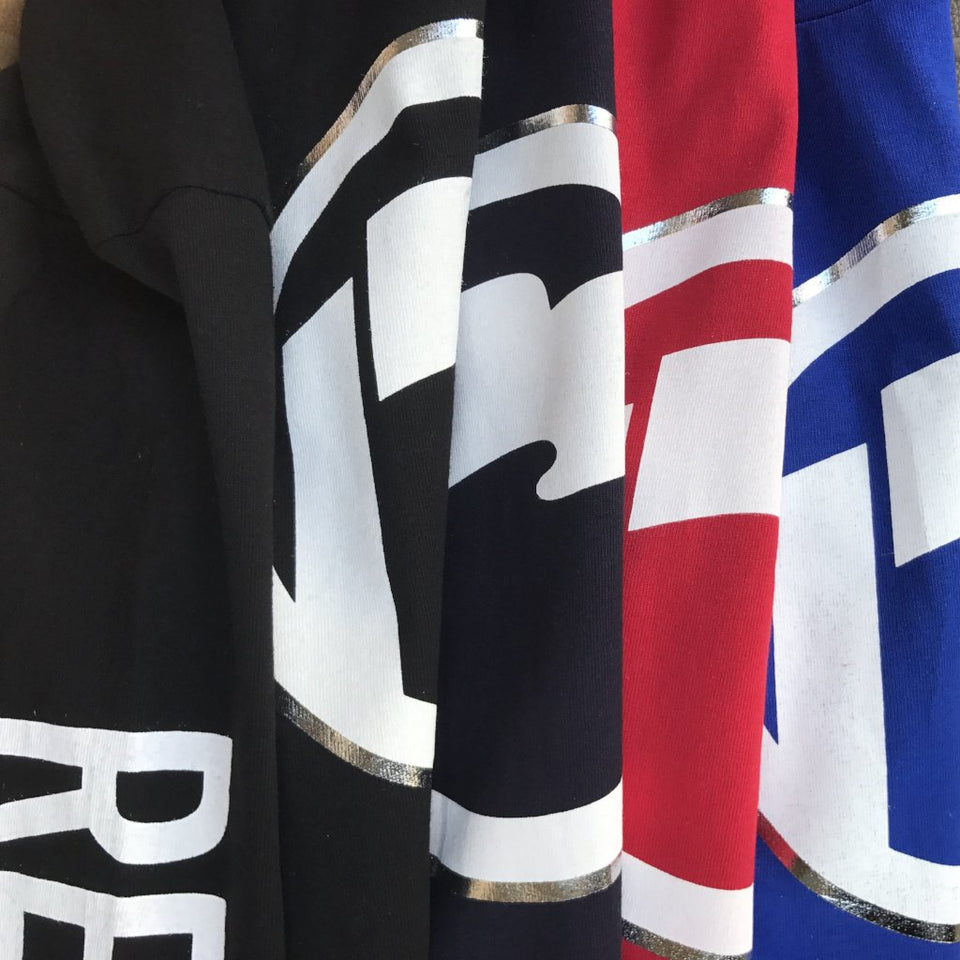 Classic Icon Tees LS  (Royal, Navy, Red, and Black)
