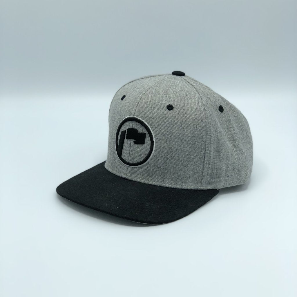 Repyasoil Snapback Black Heather Grey White
