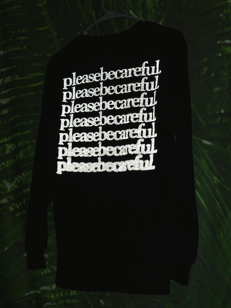 """It Calls My Name"" Hyper-Reflective Ink Longsleeve Shirt"