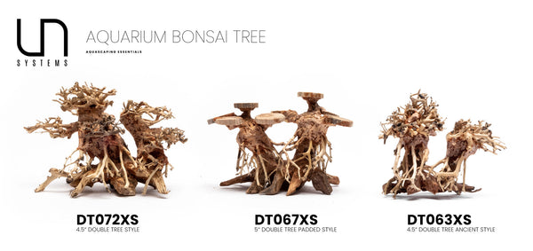 Double Bonsai Aquarium Driftwood
