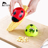 Image of Creative Ladybug Hand Corn Stripper - Stainless Steel