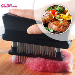 Professional Meat Tenderizer with Needle Stainless Steel
