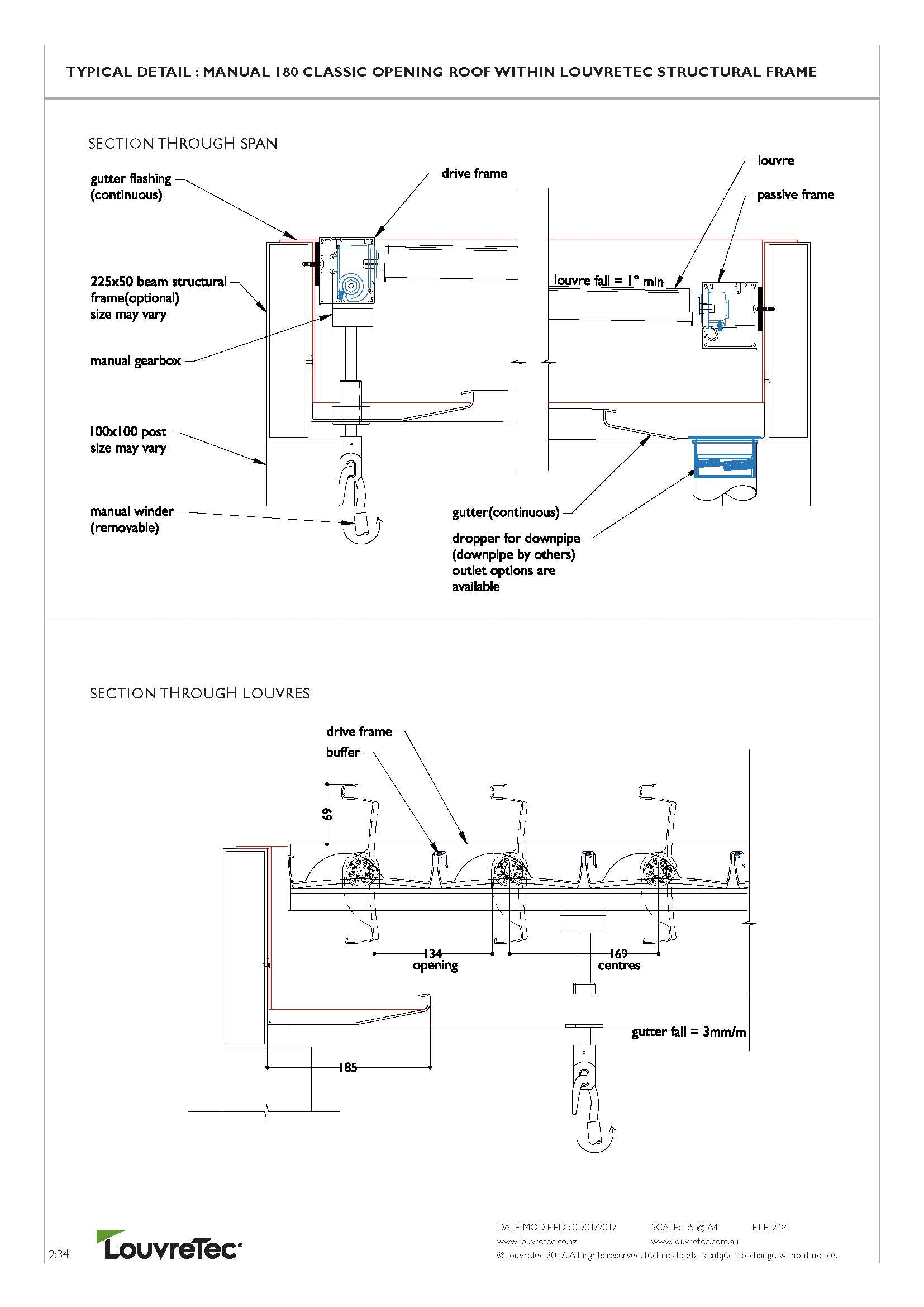 2D Typical Detail Hand Operable 2.34