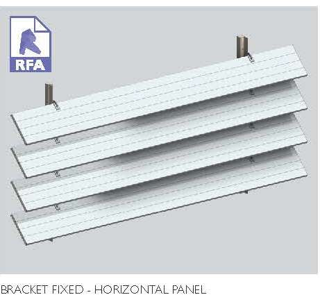 Bracket Fixed Horizontal Panel | 8.61