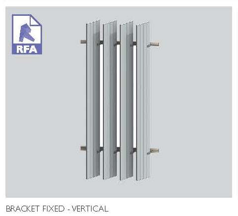 Bracket Fixed Vertical Panel | 8.61