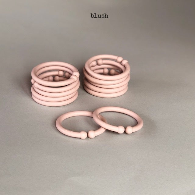 bibs | loops BLUSH - 4 PACK