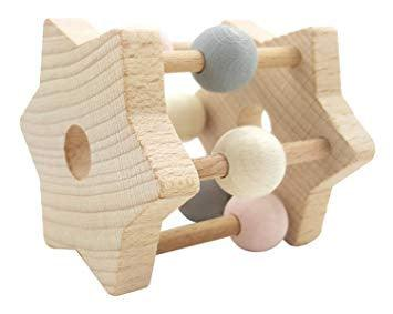 STAR RATTLE NATURAL PINK