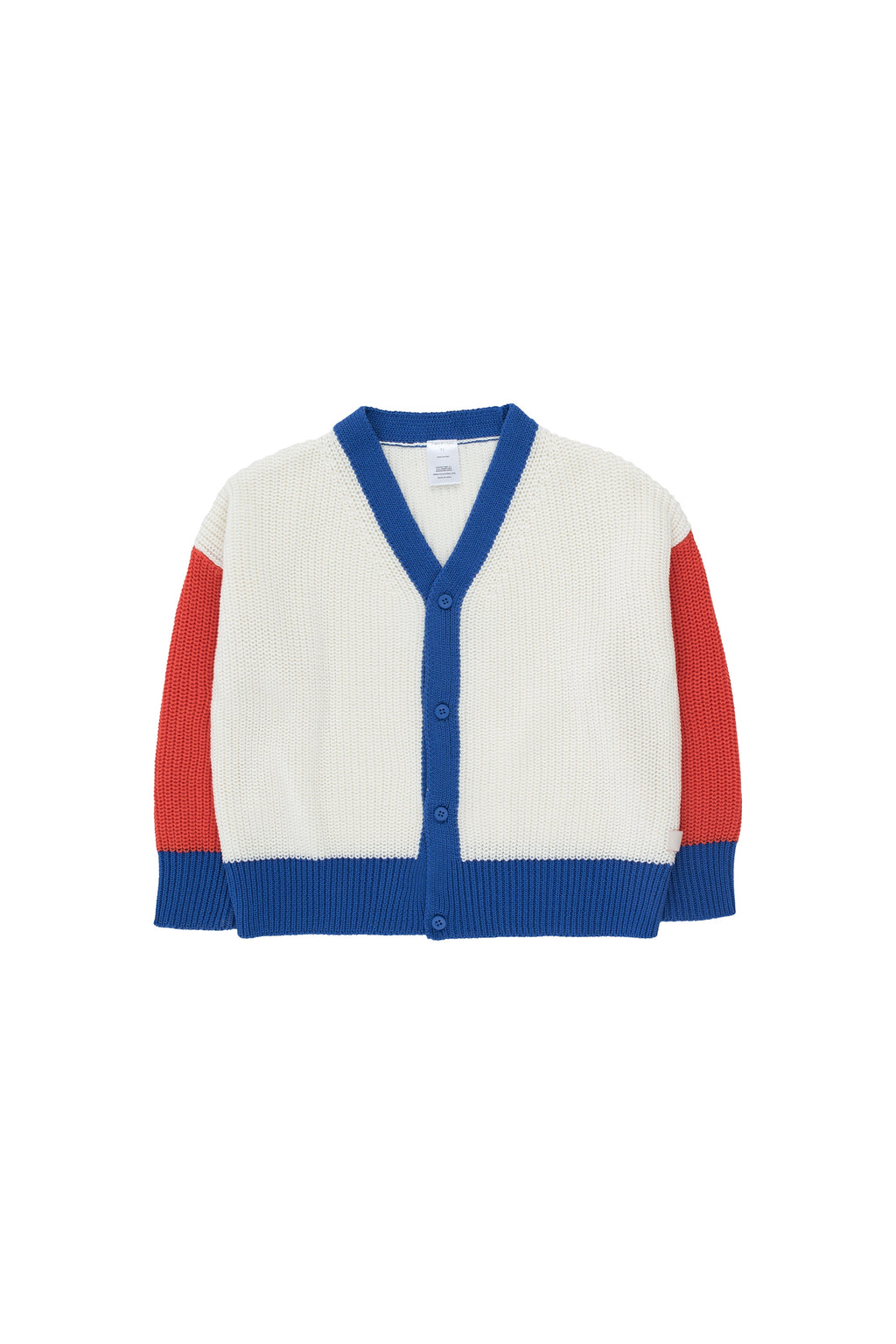 Colour- Block Cardigan- Tiny Cottons