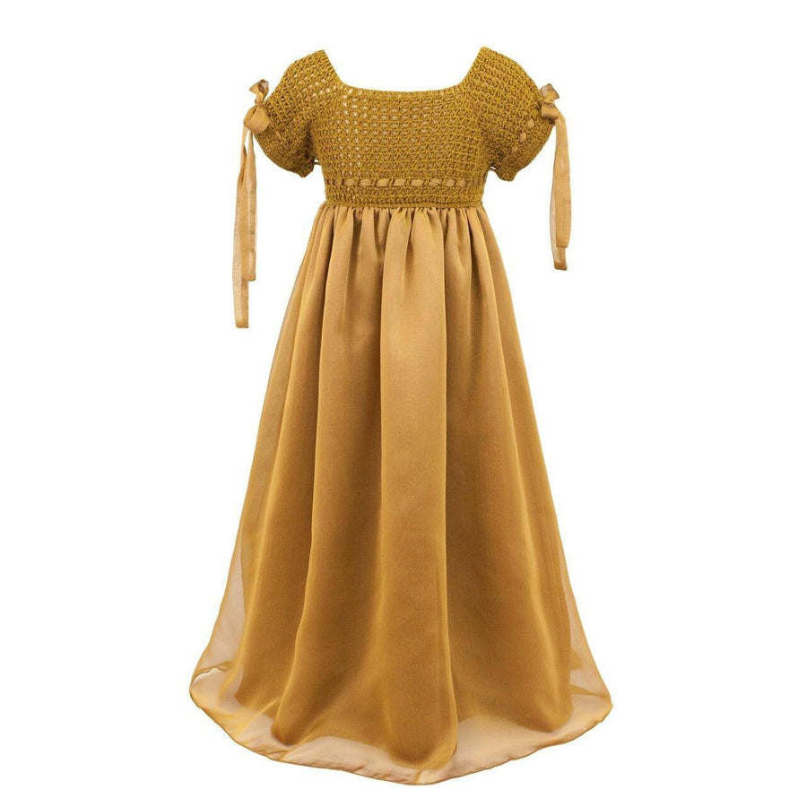 Numero 74 | Salome Dress | Gold | Size 3-5Y