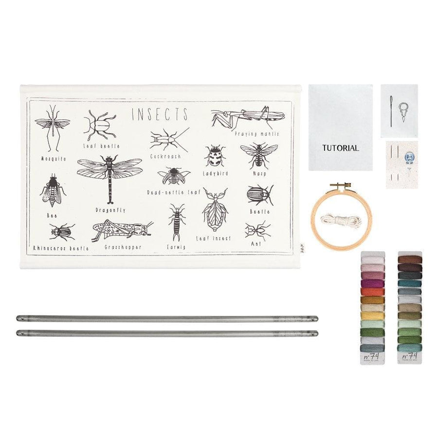 Numero 74 | School Poster Kit | Insects