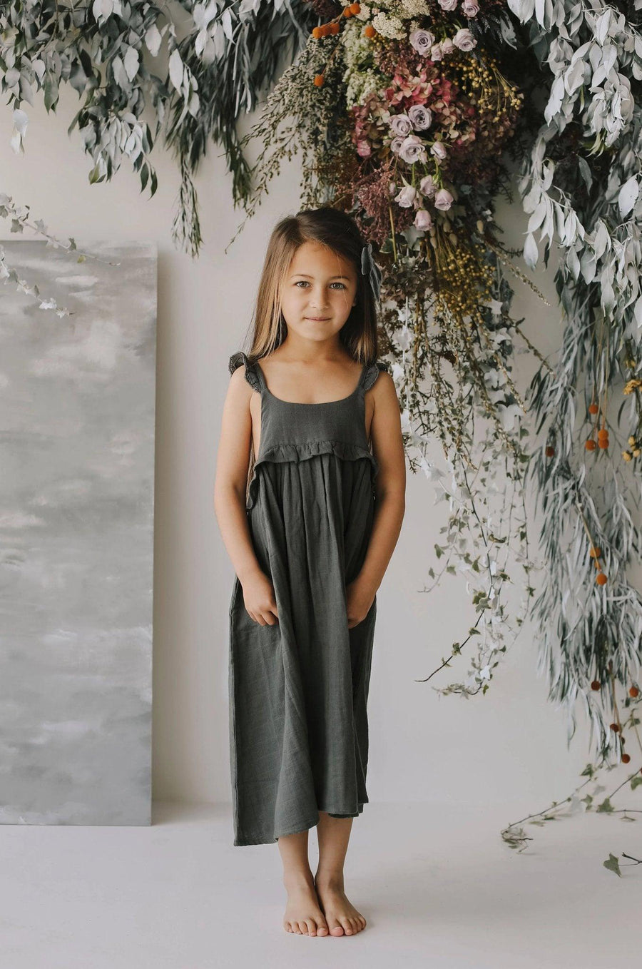 Jamie Kay | Organic cotton muslin Lola dress | Juniper