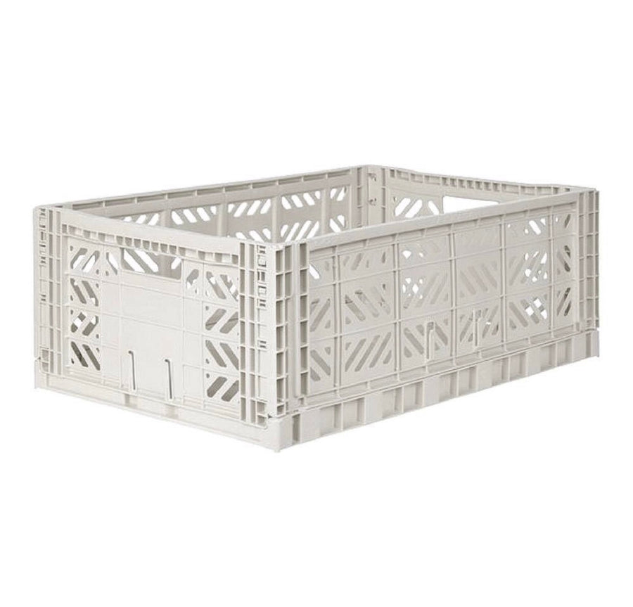 Ay-Kasa folding crate | LIGHT GREY |