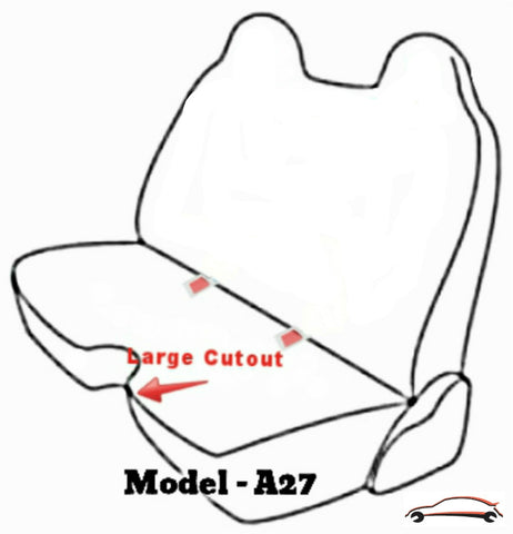 A27 Mazda B-Series Pickup Truck Bench Seat Cover