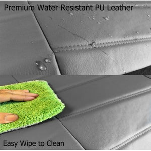 Low Back 4pc Premium PU Leatherette Semi Seat Cover for Acura - RealSeatCovers