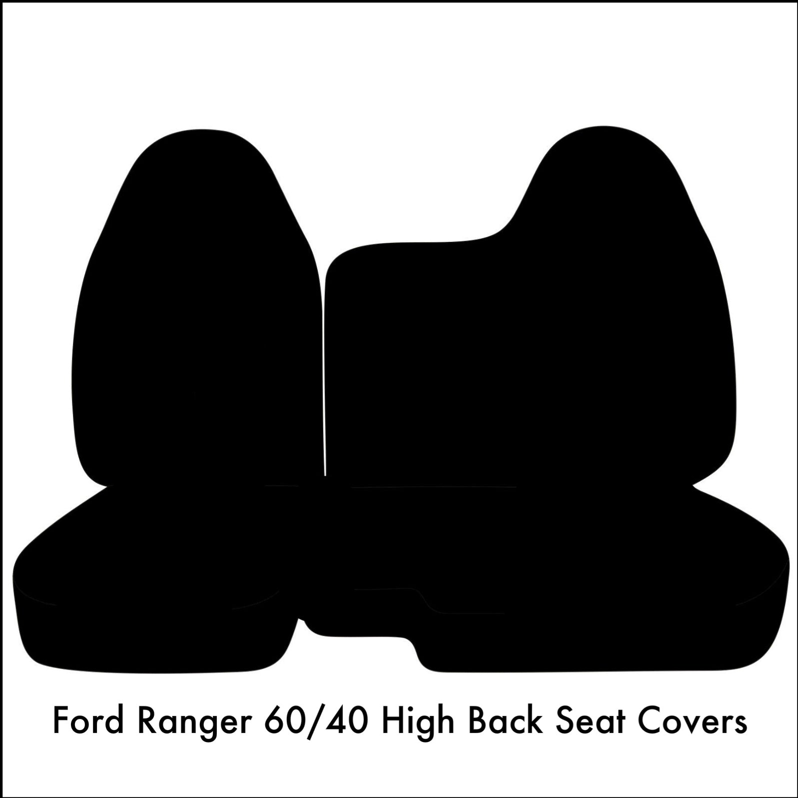 Ford Ranger 60 40 Split Bench Muddy Water Camo Seat Covers