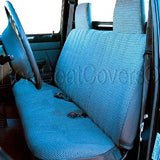 Seat Cover for 1991 - 1997 Mazda B-Series Front Solid Bench Custom Fit - RealSeatCovers