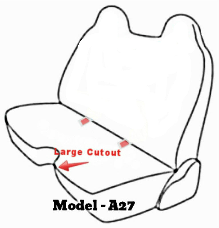 Chevy S10 Molded Headrest Large 5 7 Inch Shifter Cutout