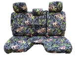 Seat Cover for Toyota Tacoma RCab XCab Front Notched Cushion Camo Bench - RealSeatCovers