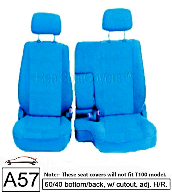Seat Cover for Toyota Pickup Front 60/40 Split Bench Thick Set Fitted