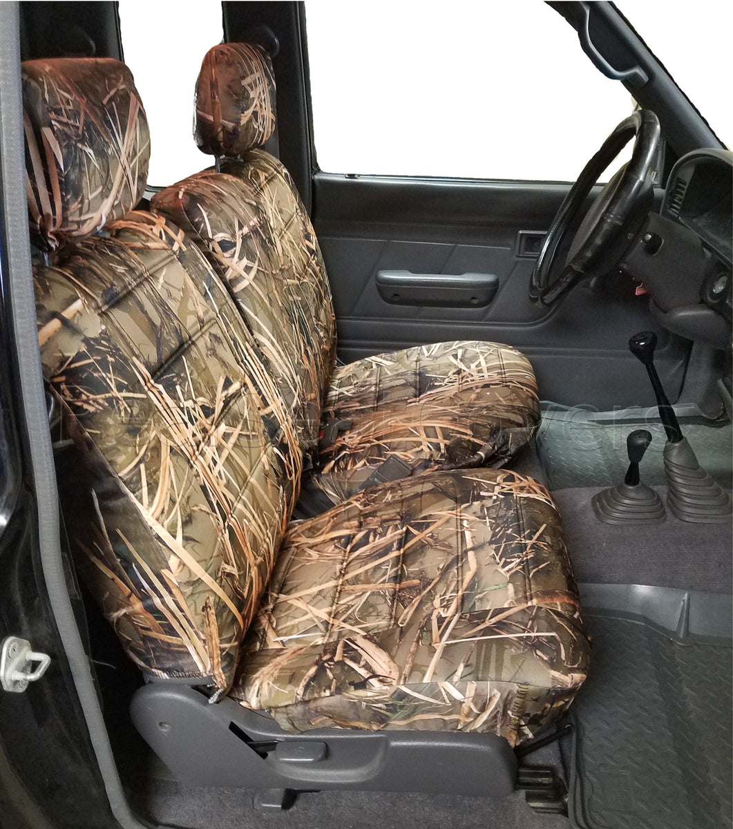 Toyota Tacoma Front 60 40 Split Bench Muddy Water Camo