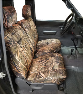Seat Cover for Toyota Tacoma Front 60 40 Split Bench Muddy Water Fitted - RealSeatCovers