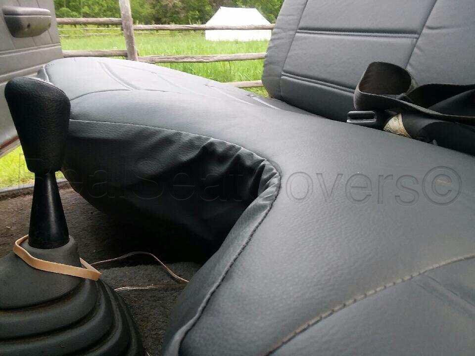 Toyota Pickup Pu Leather Exact Fit Bench A27 Seat Cover