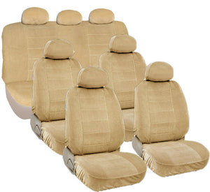A60 Semi Custom Complete Seat Covers Set 3 Row 7 Passangers SUV VAN - RealSeatCovers