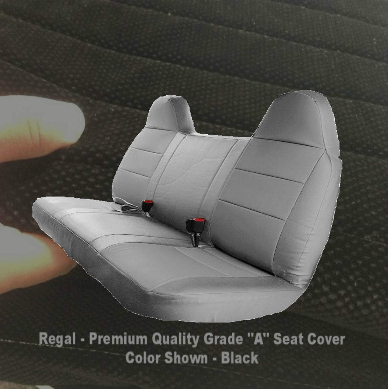 Enjoyable 1992 1998 Ford F150 F250 F350 Truck Solid Bench Seat Cover Ibusinesslaw Wood Chair Design Ideas Ibusinesslaworg